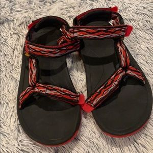 Boys Tevas Hurricane Sandals